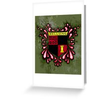Hellsing Coat of arms Greeting Card