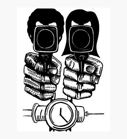 Pulp Fiction - Jules and Vincent Photographic Print