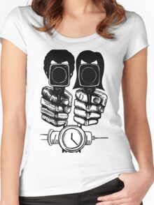 Pulp Fiction - Jules and Vincent Women's Fitted Scoop T-Shirt