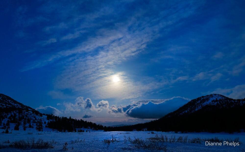 Moonlight Over Tahoe Meadows by Dianne Phelps