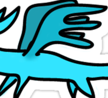 Derpy Dragon Sticker