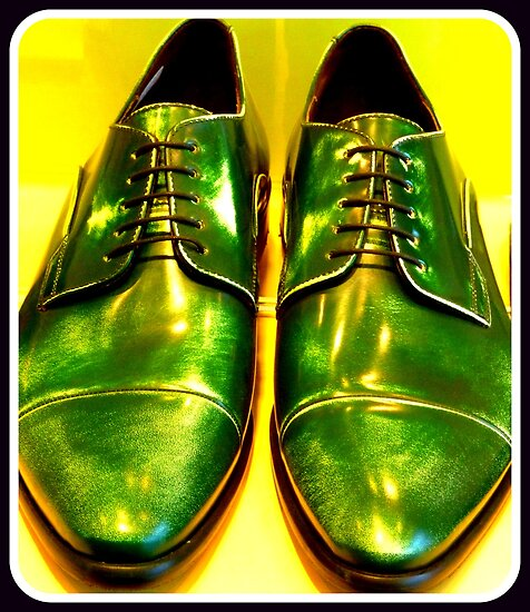 Green shoes by ©The Creative  Minds