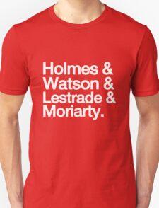 The Men Of BBC Sherlock Unisex T-Shirt