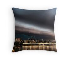 The Silencer Throw Pillow