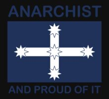 Anarchist Australian Eureka flag by Owen65