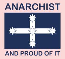 Anarchist Australian Eureka flag Baby Tee