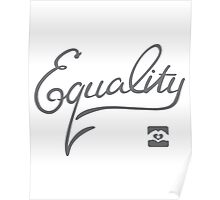 Equality - Grey Poster