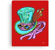 Mad Hat and Shades Canvas Print