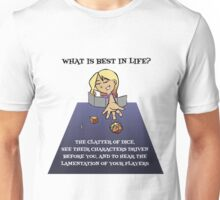 OWE - What is Best In Life? Unisex T-Shirt