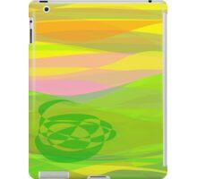 Green Basket iPad Case/Skin