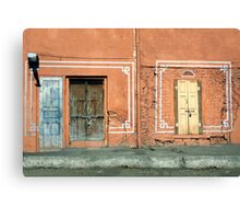 Life is a series of pathways and doorways Canvas Print
