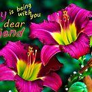 Joy Dear Friend by michaelasamples