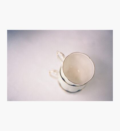 vintage cups on film Photographic Print