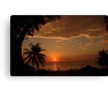 phuket sunset 2 Canvas Print