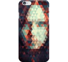Abstract Triangle Face iPhone Case/Skin