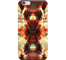 Abstract Triangle Body iPhone Case/Skin