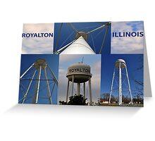 Royalton Water Tower Greeting Card