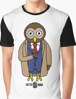 Dr. Whoo - The 10th Owl Graphic T-Shirt
