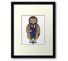 Dr. Whoo - The 10th Owl Framed Print