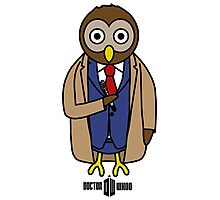 Dr. Whoo - The 10th Owl Photographic Print