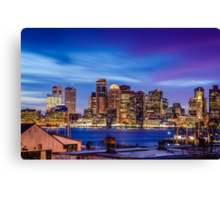 Boston colors Canvas Print