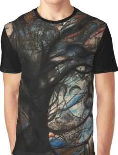 Abstract Tree  Graphic T-Shirt