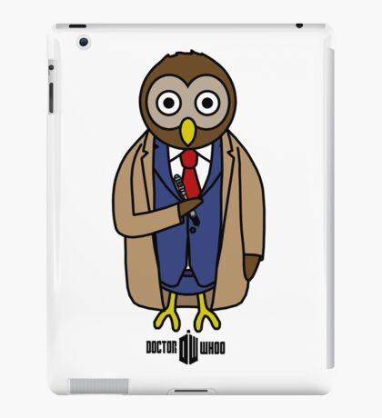 Dr. Whoo - The 10th Owl iPad Case/Skin