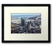 Windy City Framed Print