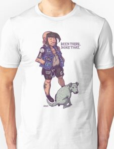 Punx 'n' Pups: Been There. Done That.  T-Shirt
