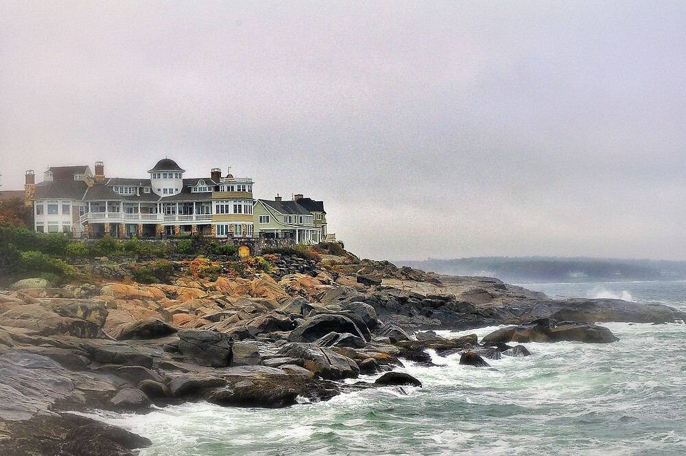 Cape Neddick, Maine by fauselr