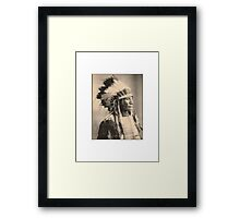 Broken Arm Ogalalla Framed Print