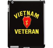 25th Infantry Div. Vietnam Veteran T-shirt iPad Case/Skin