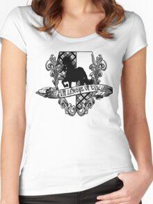 Evil League of Evil Black Women's Fitted Scoop T-Shirt