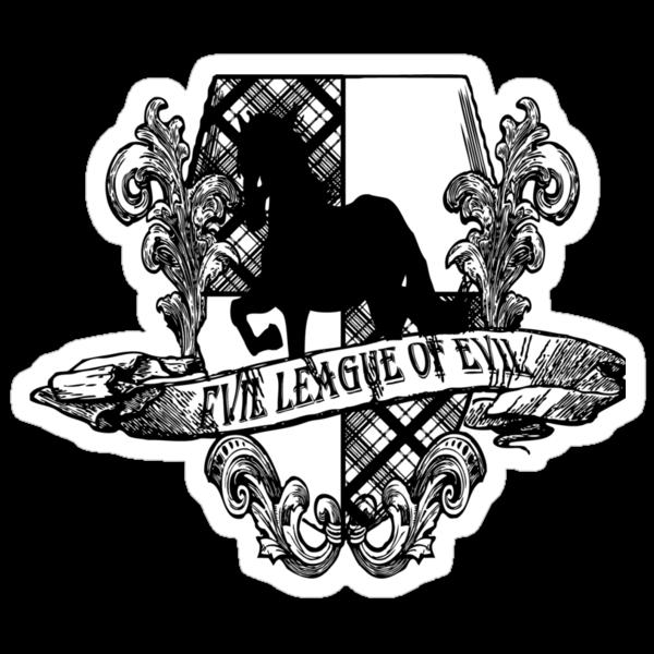 Evil League of Evil Black by RileyRiot