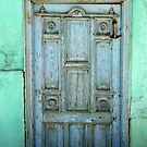 Old Door in Konya-Karatay by Jens Helmstedt