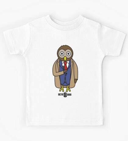 Dr. Whoo - The 10th Owl Kids Tee