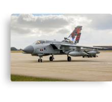 Dambusters Tornado GR.4 ZA412 taxies out Canvas Print