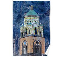 Bell Tower - Amalfi - Italy Poster