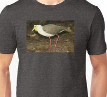 The Australian Masked Lapwing Bird Unisex T-Shirt