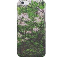 Faded Flower Forest iPhone Case/Skin