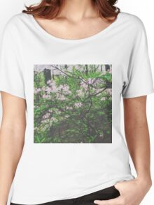 Faded Flower Forest Women's Relaxed Fit T-Shirt