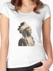 Broken Arm Ogalalla V2 Women's Fitted Scoop T-Shirt