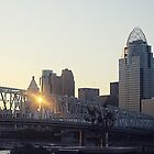 Cincinnati Skyline by hannahsellers25