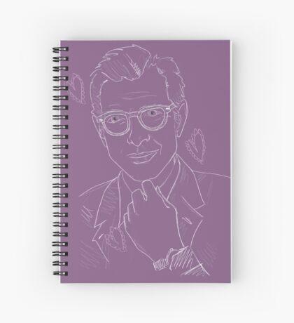 Mrs Jeffery Goldblum Spiral Notebook