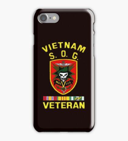 MacVsog Vietnam Veteran iPhone Case/Skin