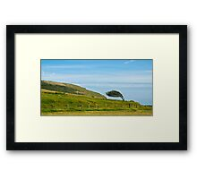 Seven Sisters Heights, Great Britain Framed Print