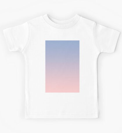 Pantone Colour of the Year 2016  Rose Quartz/ Serenity Ombre Kids Tee