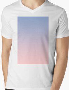 Pantone Colour of the Year 2016  Rose Quartz/ Serenity Ombre Mens V-Neck T-Shirt
