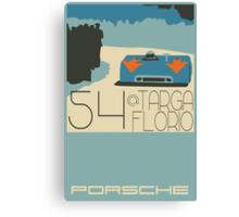 Targa Florio Canvas Print