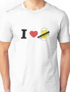 i heart beer Unisex T-Shirt